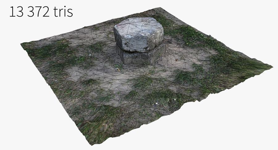 Каменная трава 3d Scan royalty-free 3d model - Preview no. 23