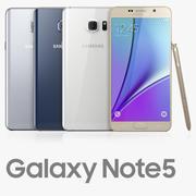 Samsung GALAXY Note5 modelo 3d