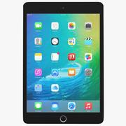 Apple iPad Mini 4 Espaço Cinzento 3d model