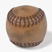 Baseball Used 3d model
