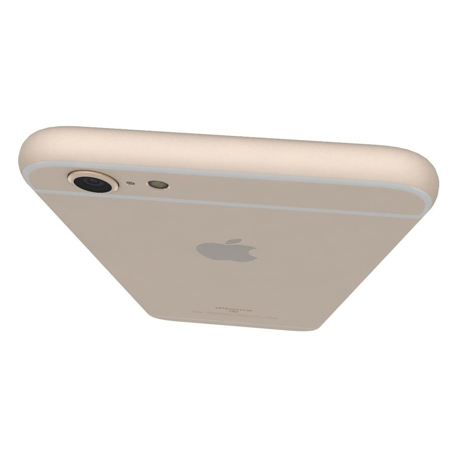 Apple iPhone 6s Artı Altın royalty-free 3d model - Preview no. 17