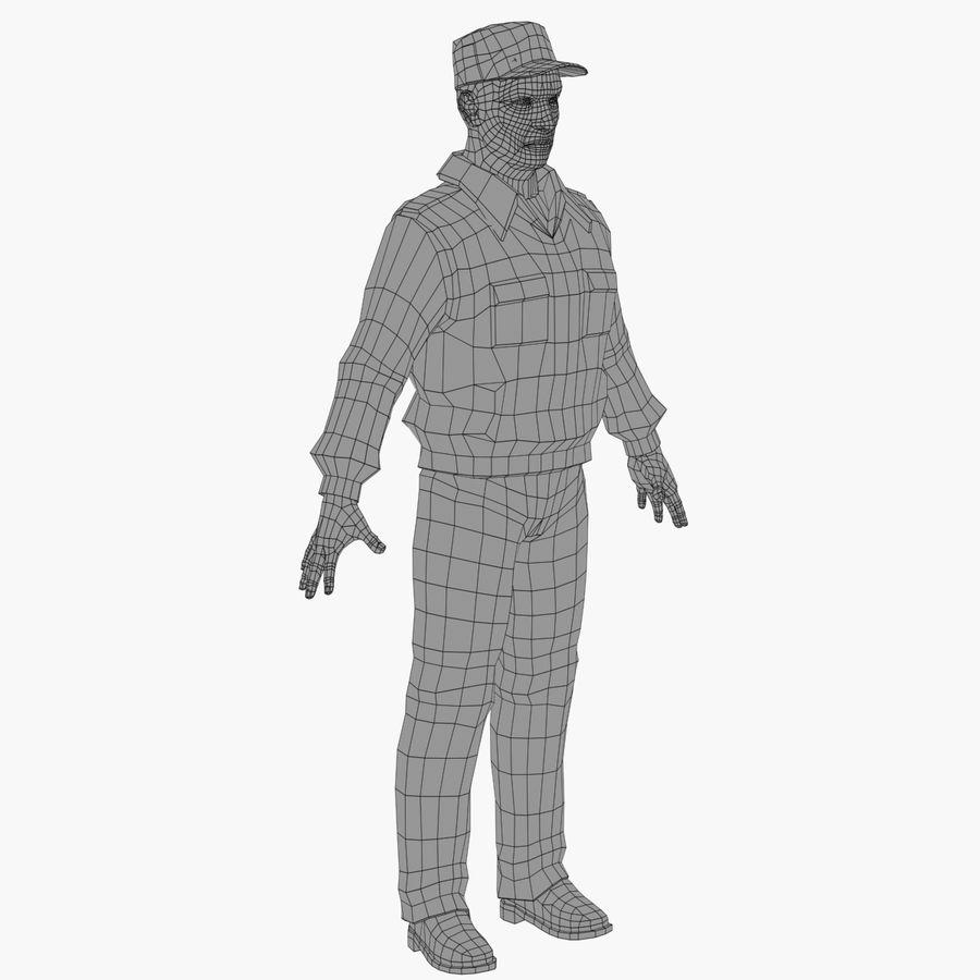 Polis royalty-free 3d model - Preview no. 10