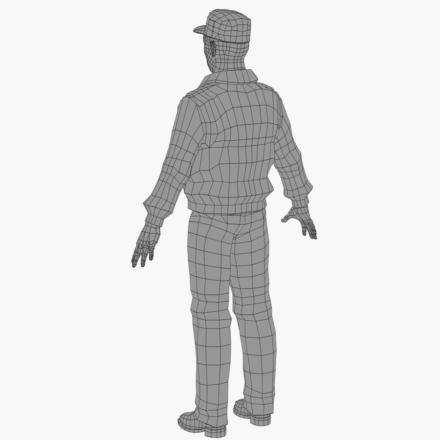 Polis royalty-free 3d model - Preview no. 12