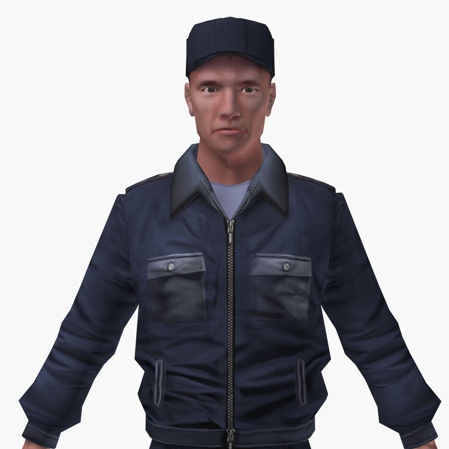 Polis royalty-free 3d model - Preview no. 2