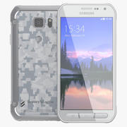 Samsung Galaxy S6 Active White 3d model