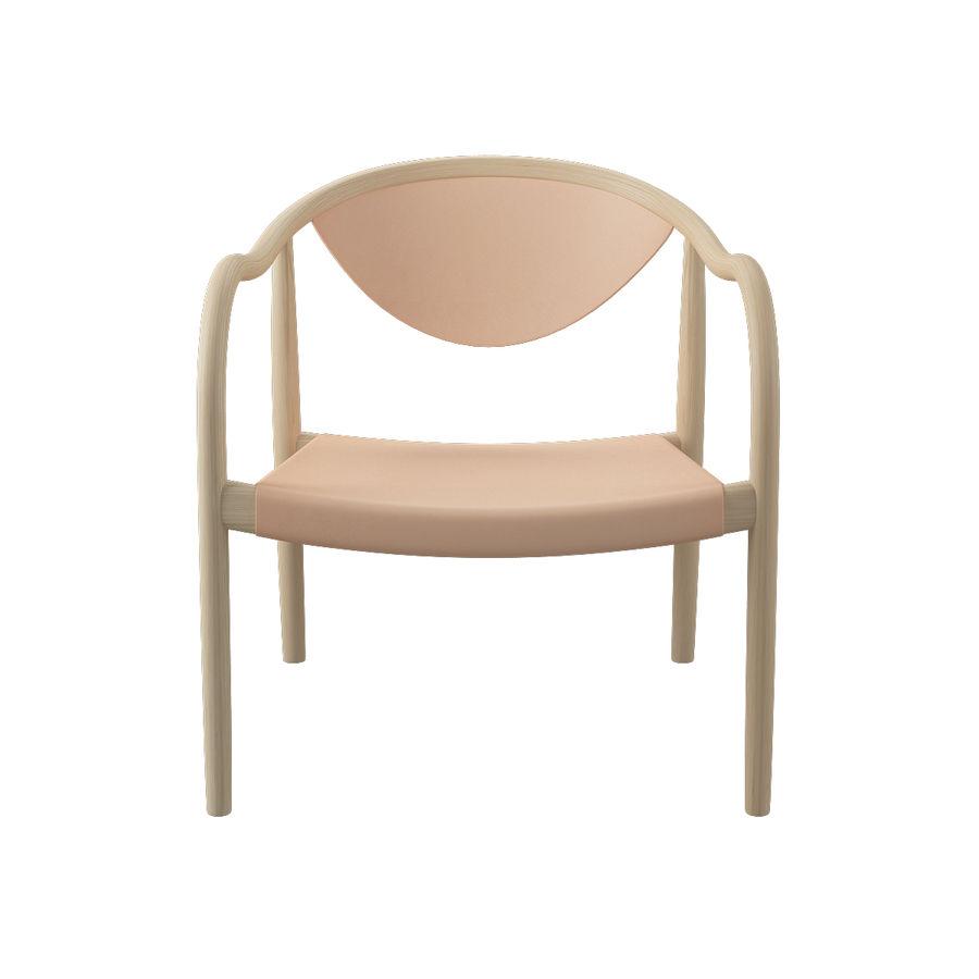 椅子PP911-Hans Wegner royalty-free 3d model - Preview no. 3
