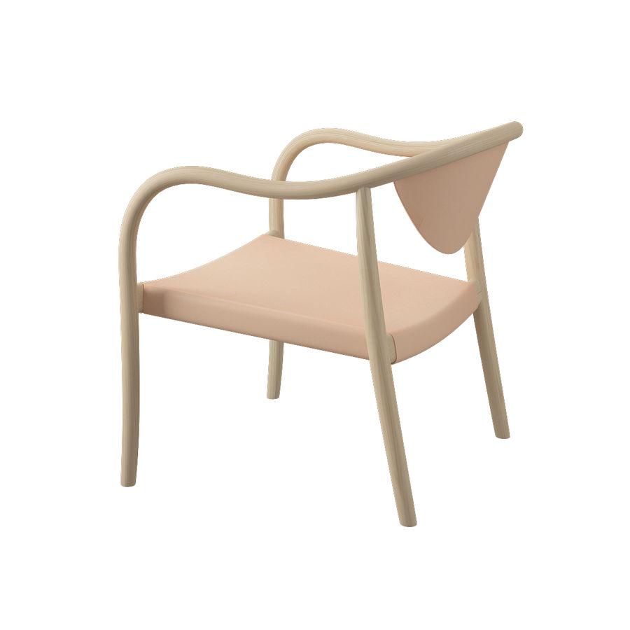 椅子PP911-Hans Wegner royalty-free 3d model - Preview no. 6