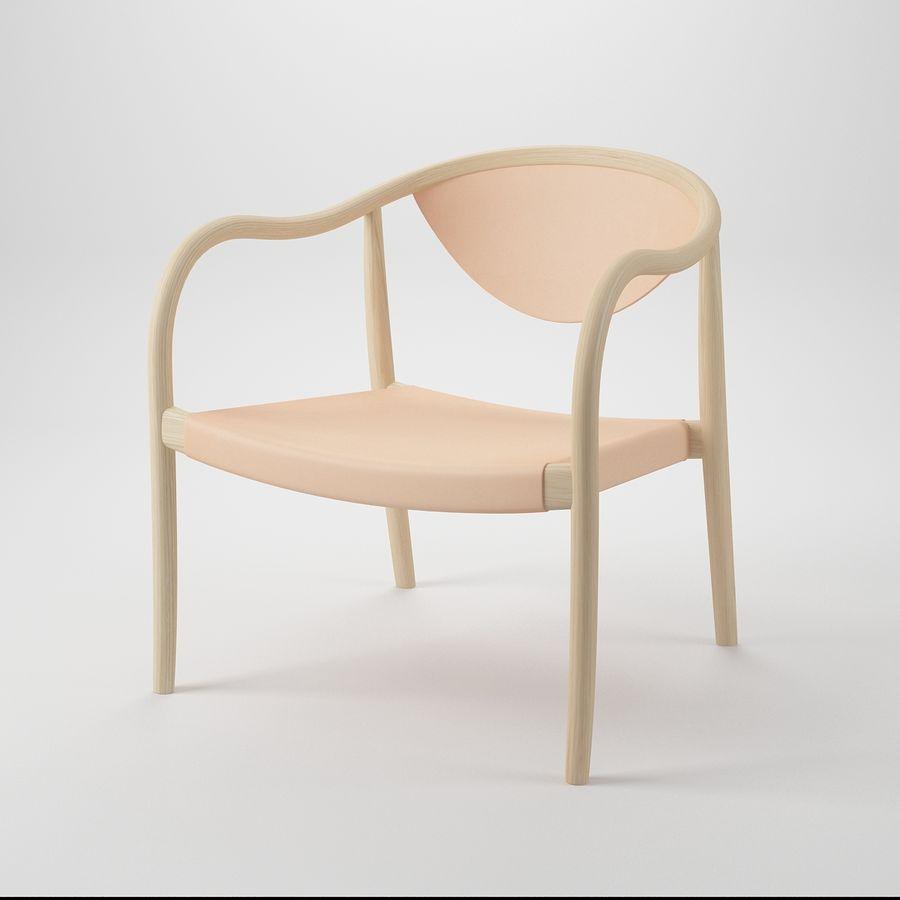 椅子PP911-Hans Wegner royalty-free 3d model - Preview no. 2