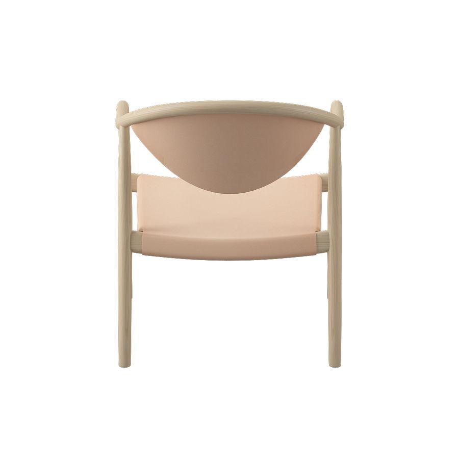 椅子PP911-Hans Wegner royalty-free 3d model - Preview no. 8