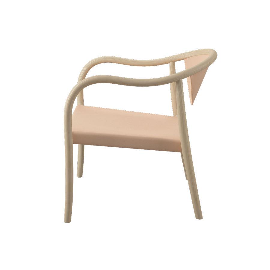 椅子PP911-Hans Wegner royalty-free 3d model - Preview no. 5