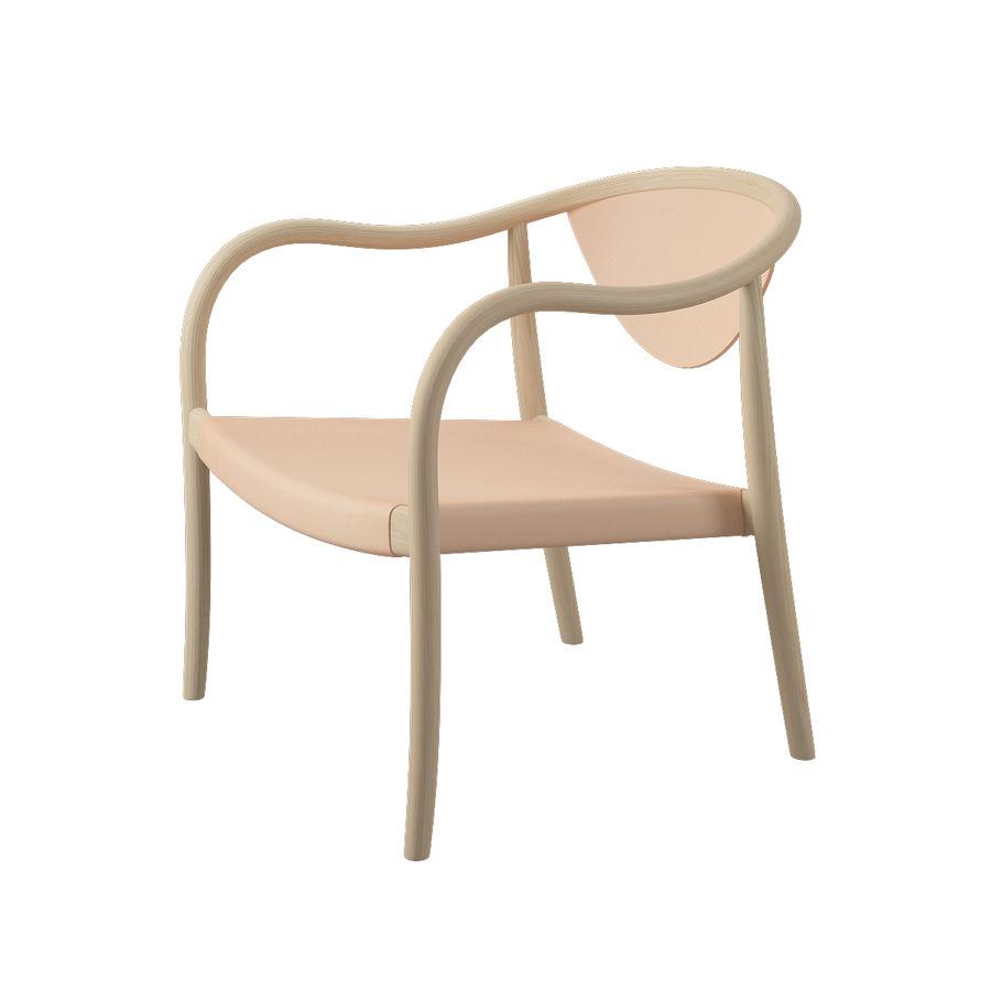 椅子PP911-Hans Wegner royalty-free 3d model - Preview no. 4