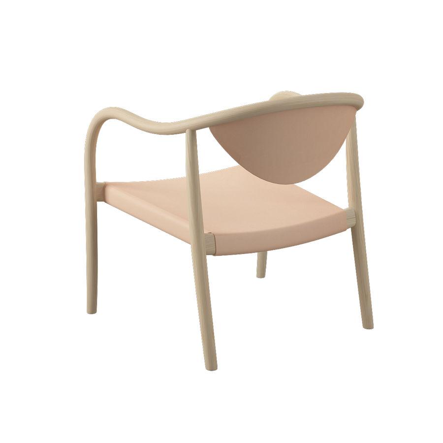 椅子PP911-Hans Wegner royalty-free 3d model - Preview no. 7