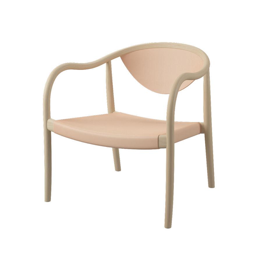 椅子PP911-Hans Wegner royalty-free 3d model - Preview no. 1