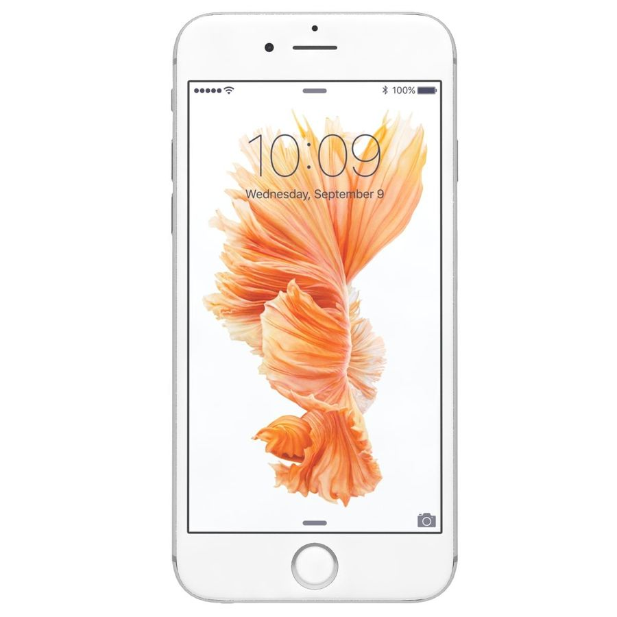 Apple iPhone 6s Prateado royalty-free 3d model - Preview no. 2