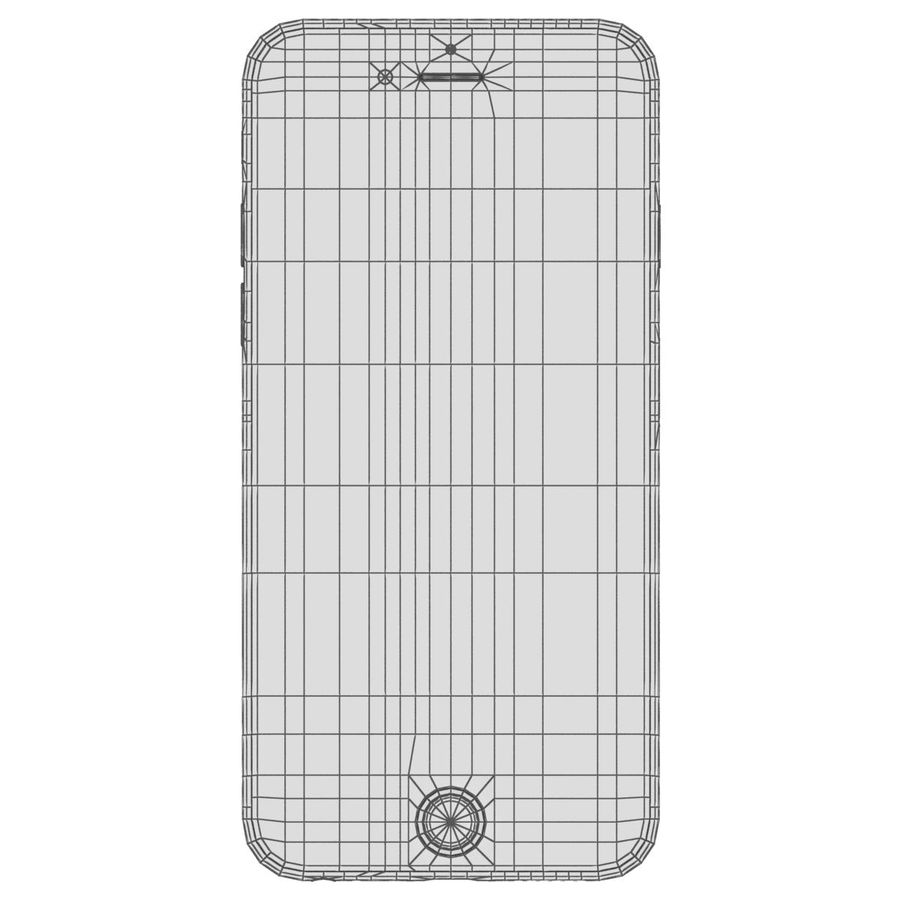 Apple iPhone 6s Space Gray royalty-free 3d model - Preview no. 28