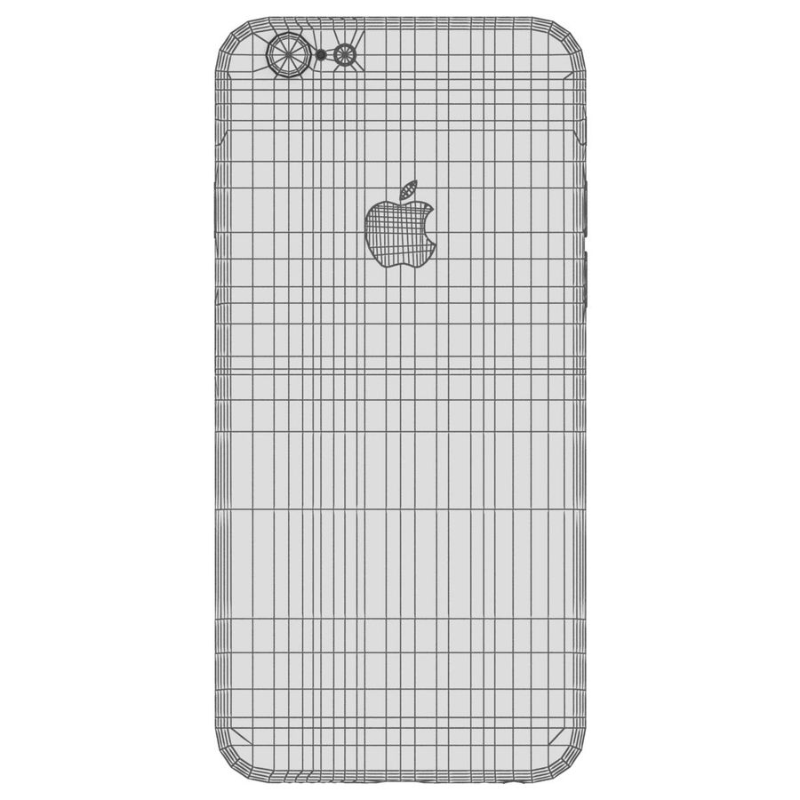 Apple iPhone 6s Space Gray royalty-free 3d model - Preview no. 29
