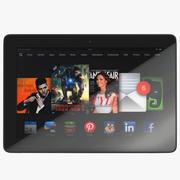 Amazon Fire HD 8.9 3D模型 3d model