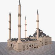Mosque  Bursa 3d model
