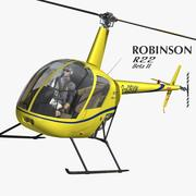 Robinson R22 3d model