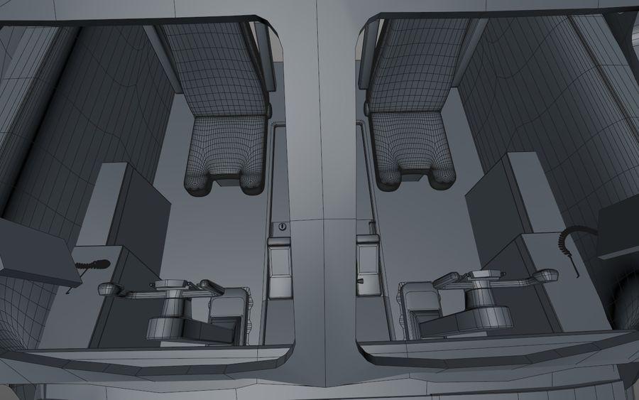Cockpit d'avion royalty-free 3d model - Preview no. 15