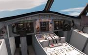 Flugzeug-Cockpit 3d model