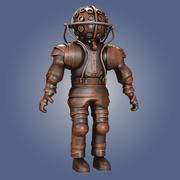 Old Diving Suit 3d model