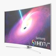 Samsung Kavisli Akıllı TV 4K SUHD JS9500 88 inç 3d model