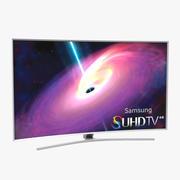 Samsung Curved Smart TV 4K SUHD JS9500 78 inch 3d model