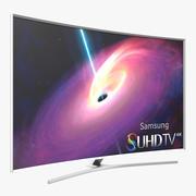 Samsung Kavisli Akıllı TV 4K SUHD JS9500 65 inç 3d model