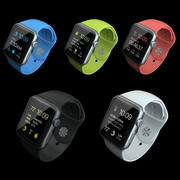 Apple Watch Sport Kollektion 3d model