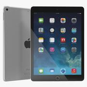 iPad Pro Silver 3d model