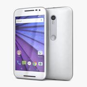 Motorola Moto G 3rd Genホワイト 3d model