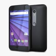 Motorola Moto G di terza generazione nero 3d model