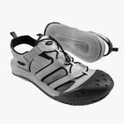 运动鞋7 White 3D模型 3d model