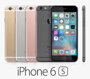 iPhone 6S Tüm Renkler 3d model