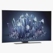 Samsung 4K UHD HU9000 Series Curved Smart TV 65 inch 3d model