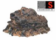 Vulkanisk sten 8K 5 3d model