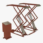 Modelo 3D genérico de elevador de tesoura automotivo 3d model