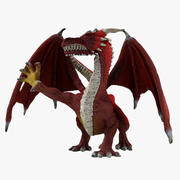 Jouet guerrier dragon 3d model
