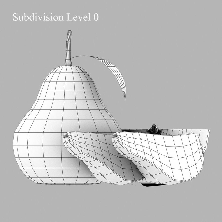 洋ナシ royalty-free 3d model - Preview no. 12