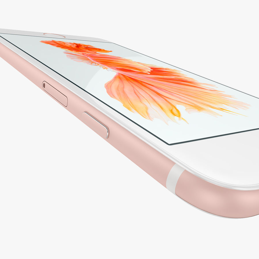 Apple iPhone 6s i iPhone 6s plus 2015 royalty-free 3d model - Preview no. 20