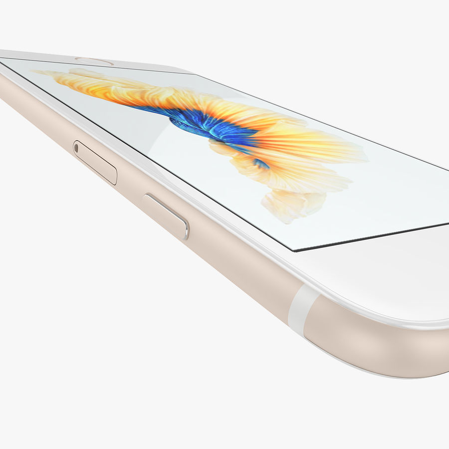 Apple iPhone 6s i iPhone 6s plus 2015 royalty-free 3d model - Preview no. 31