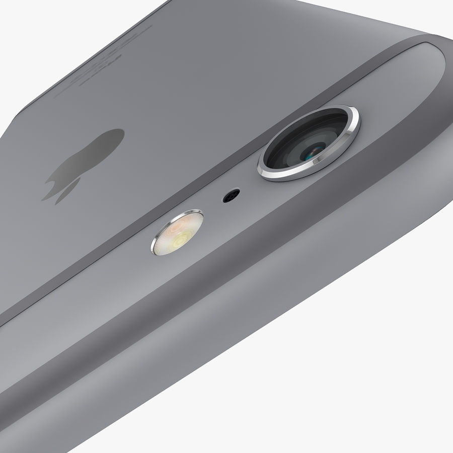 Apple iPhone 6s i iPhone 6s plus 2015 royalty-free 3d model - Preview no. 15