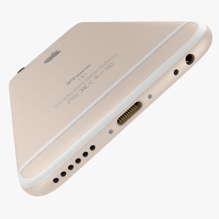 Apple iPhone 6s i iPhone 6s plus 2015 royalty-free 3d model - Preview no. 38