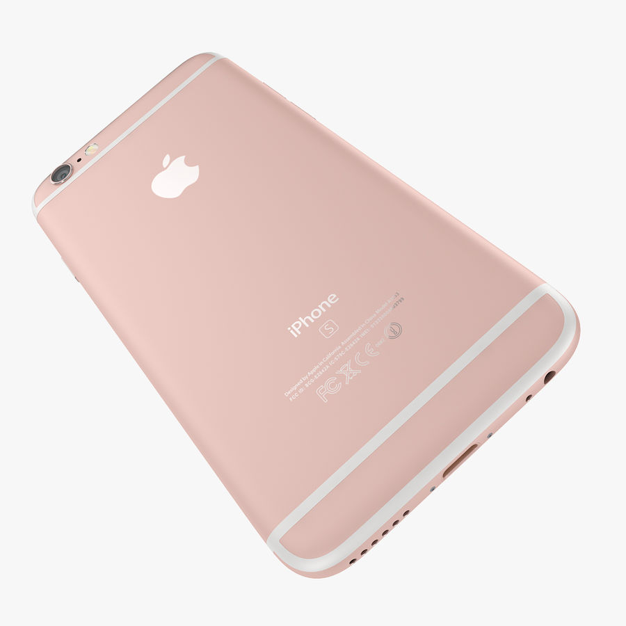 Apple iPhone 6s i iPhone 6s plus 2015 royalty-free 3d model - Preview no. 32