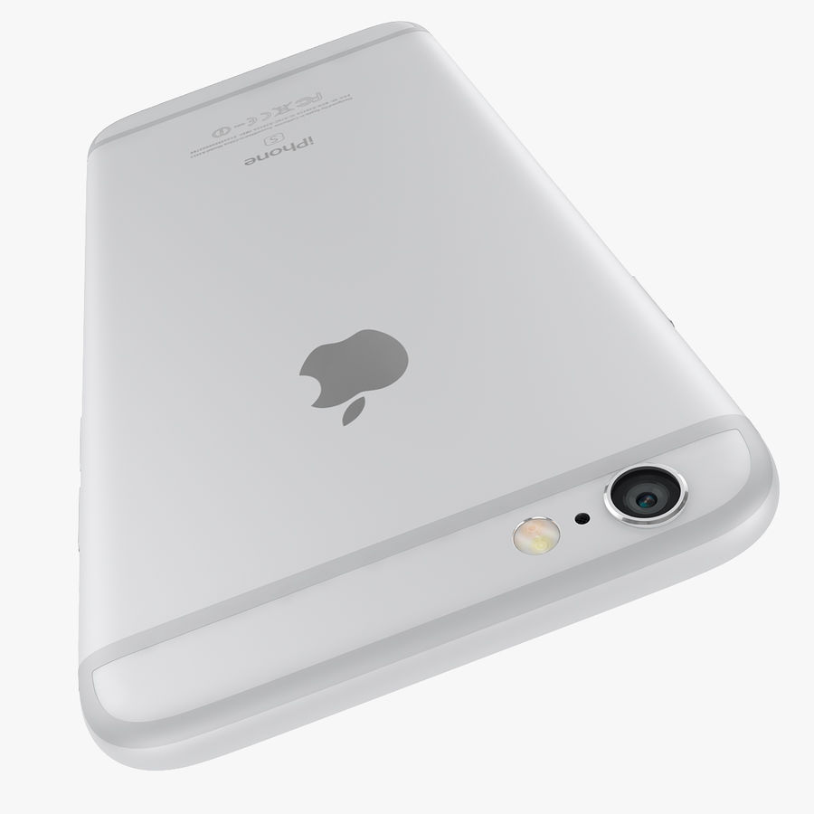 Apple iPhone 6s i iPhone 6s plus 2015 royalty-free 3d model - Preview no. 54