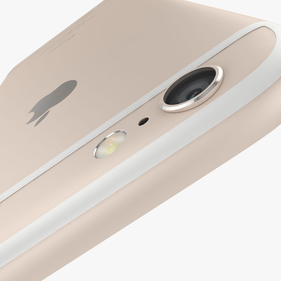 Apple iPhone 6s i iPhone 6s plus 2015 royalty-free 3d model - Preview no. 33