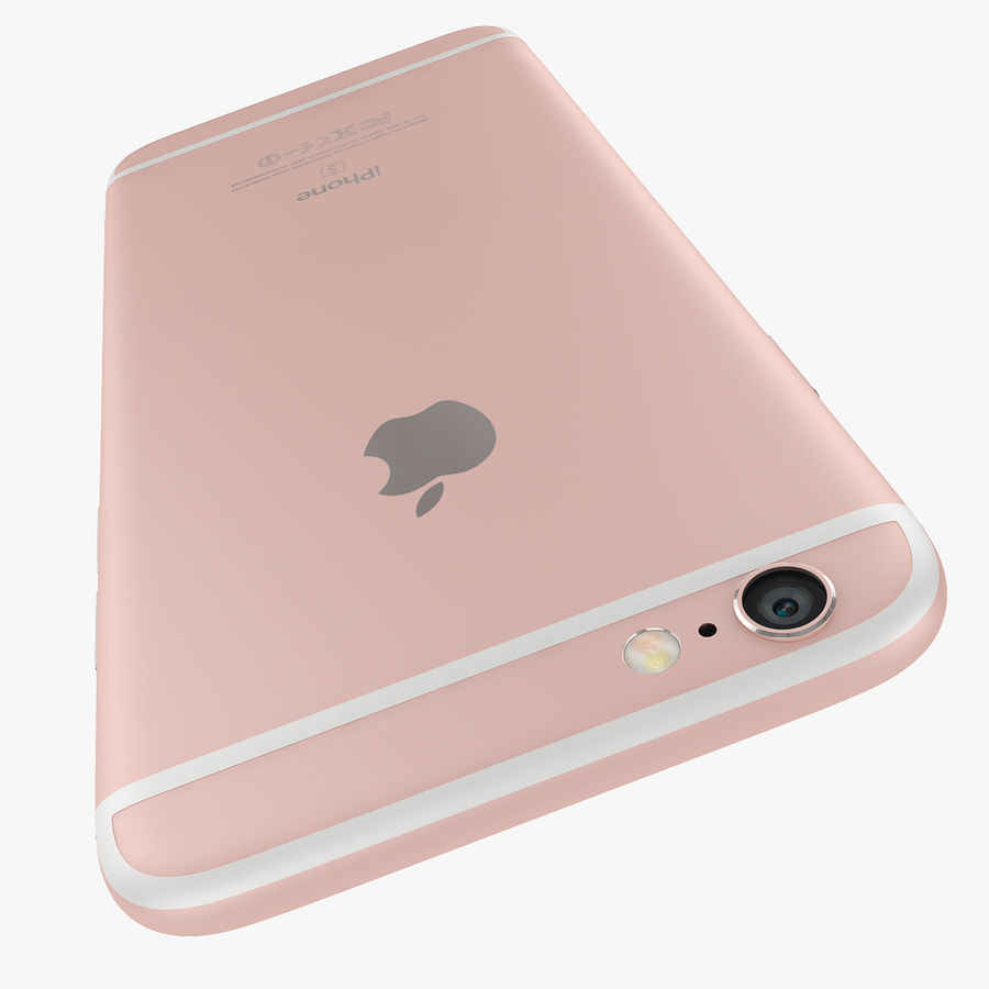 Apple iPhone 6s i iPhone 6s plus 2015 royalty-free 3d model - Preview no. 24