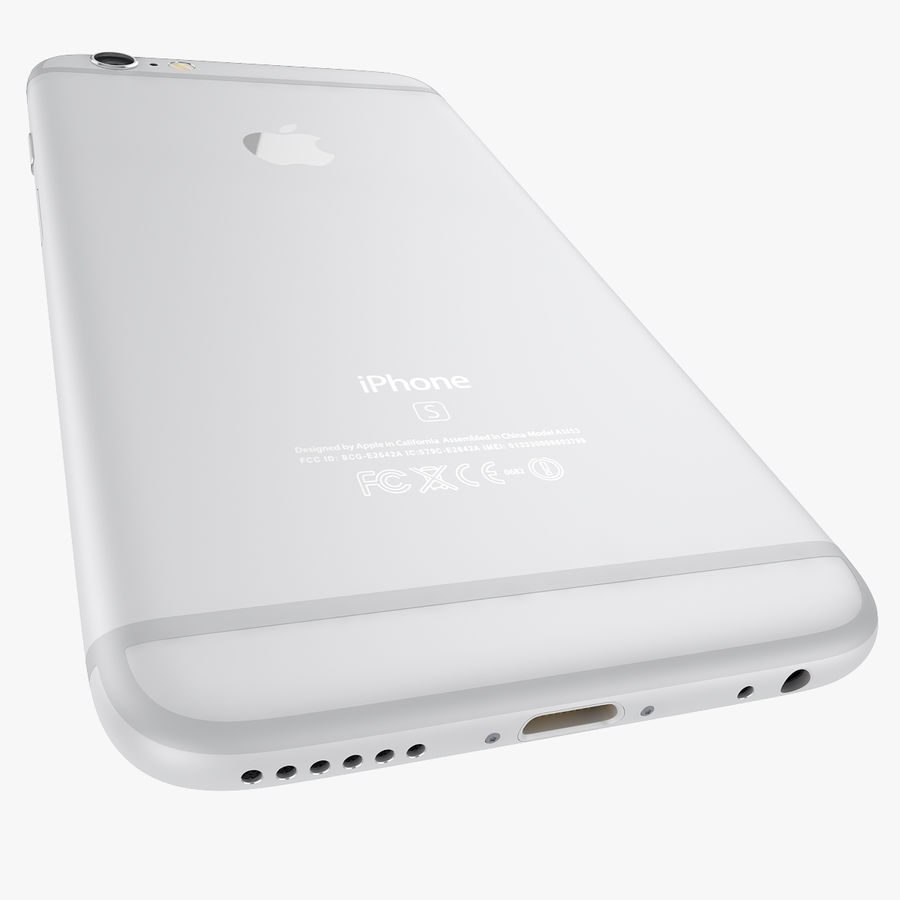 Apple iPhone 6s i iPhone 6s plus 2015 royalty-free 3d model - Preview no. 55