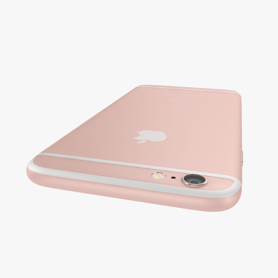 Apple iPhone 6s i iPhone 6s plus 2015 royalty-free 3d model - Preview no. 34